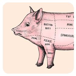 eatersmap - Griskött